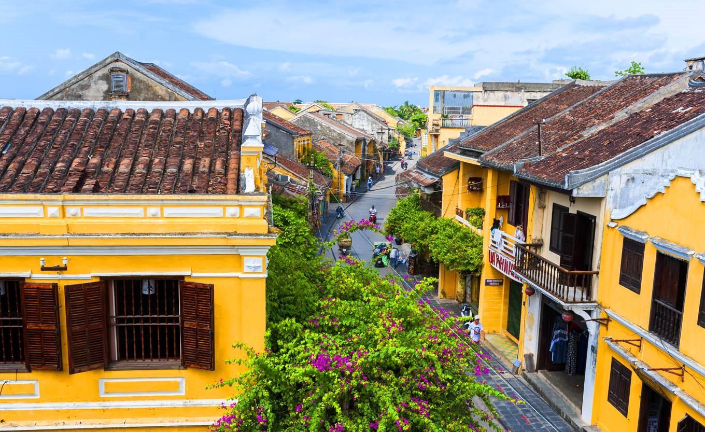 Phố cổ Hội An là một thành phố nổi tiếng của tỉnh Quảng Nam